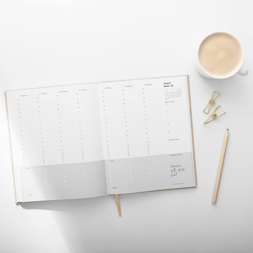 Planner and Tea